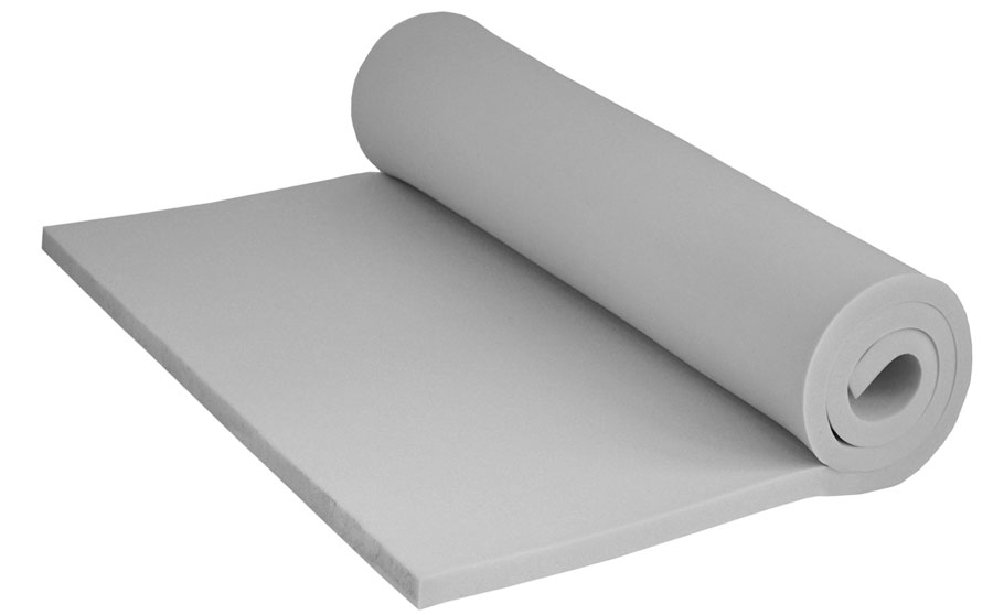 Mousse de polyur thane rg 25 44 200 120 6cm for Mousse polyurethane canape
